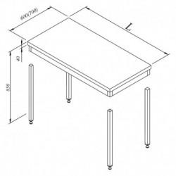 TABLE DE TRAVAIL