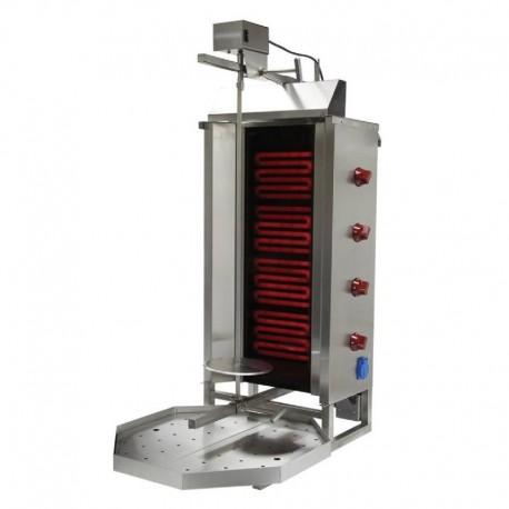 MACHINE A KEBAB ELECTRIQUE (MOTEUR EN HAUT) 4 RADIANS