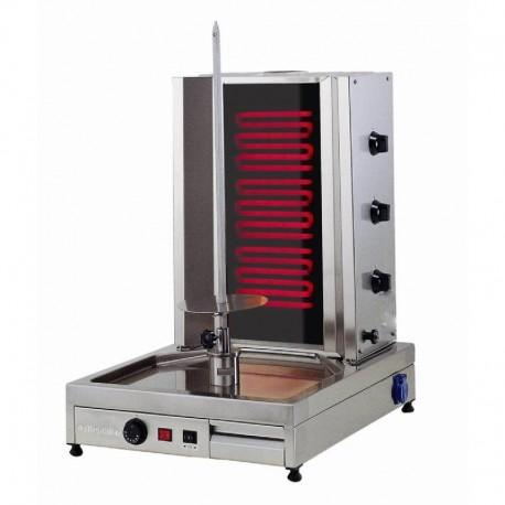 MACHINE A KEBAB  ELECTRIQUE (MOTEUR EN BAS 3 RADIANS