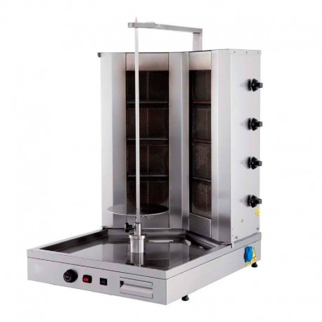 MACHINE A KEBAB  GAZ MODELE 44GUD-V TYPE V, 8 BRULEURS