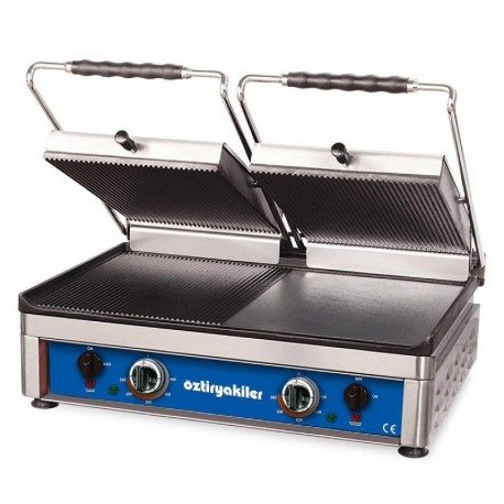 GRILL PANINI DOUBLE PLAQUE 560 X 370