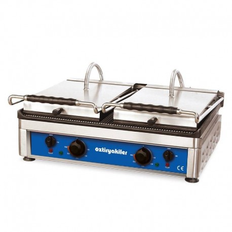 GRILL PANINI DOUBLE PLAQUE 640 X 480