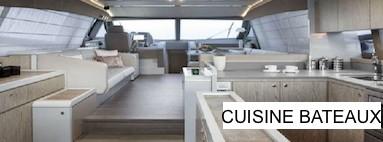 Equipement cuisine bateaux